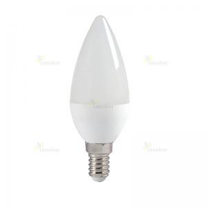 Лампа светодиодная IEK ECO C35 свеча E14 7Вт 4000К