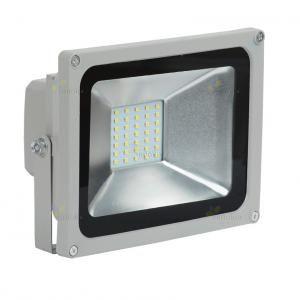 Прожектор светодиодный СДО 05-20 серый SMD IP65 IEK